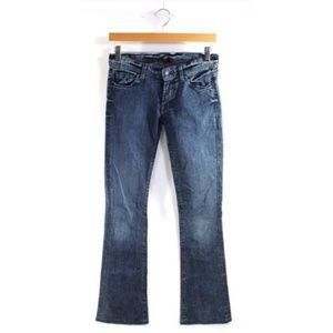 7 for all Mankind 27 Rocker Flare Jeans